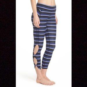 Free People Movement striped Infinity Leggings XS